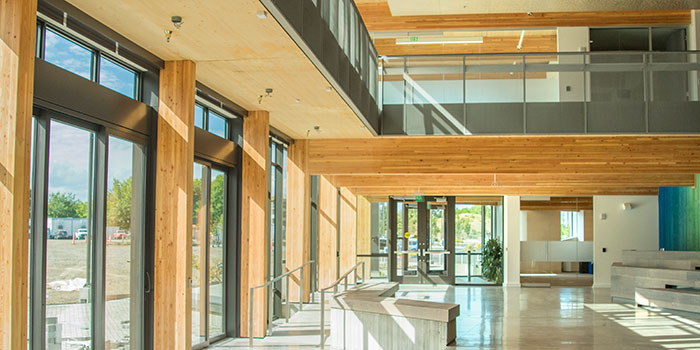 Northwest Federal Credit Union >> Mass timber at OSU – slowed but undaunted | OregonForests