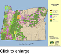 Oregon Forestland Ownership